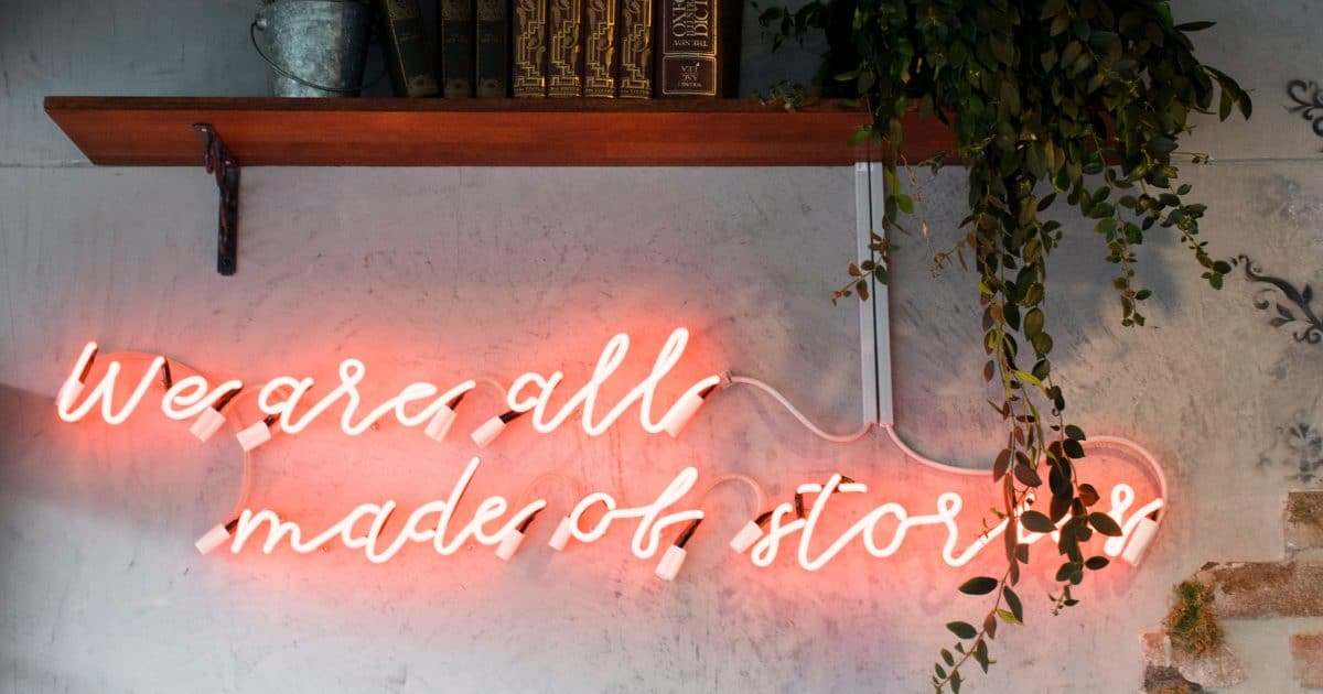 we are all made of stories - ideas for blogs